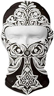 Ace of Spades Poker Card Balaclava - Windproof Ski Mask - Motorcycle Full Face UV Protection Mask