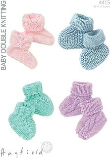 Hayfield Baby Booties Knitting Pattern 4415 DK