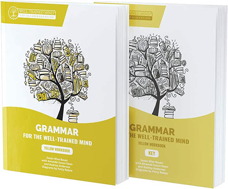 Yellow Bundle for the Repeat Buyer: Includes Grammar for the Well-trained Mind Yellow Book and Key