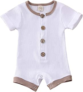 White 2 piece Romper with bow NEWBORN 24 MONTH NEW AW19 Spanish Pink