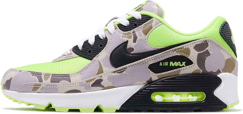 Nike Mens Air Max 90 Volt Duck Camo Cw4039 300 Size