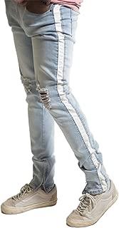 side stripe jeans mens