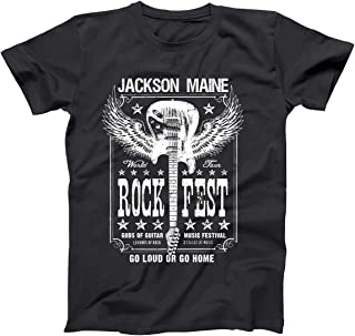 Jackson Maine Retro Country Rock Band Tour Classic Mens Shirt