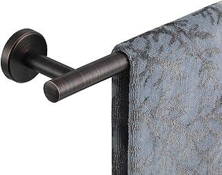 JQK Bath Towel Bar Oil Rubbed Bronze, 36 Inch Stainless Steel Single Towel Rack for Bathroom, Towel Holder ORB Wall Mount,...