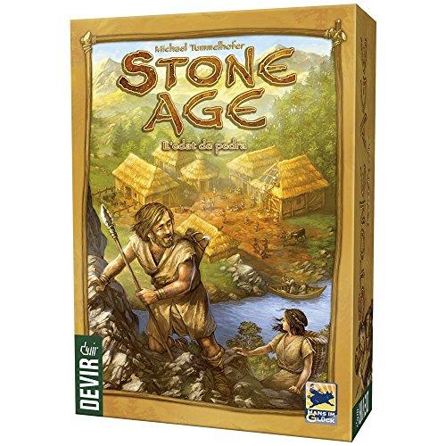 Devir Stone Age, L´edat de Pedra, edición en catalán (BGSTONECAT)