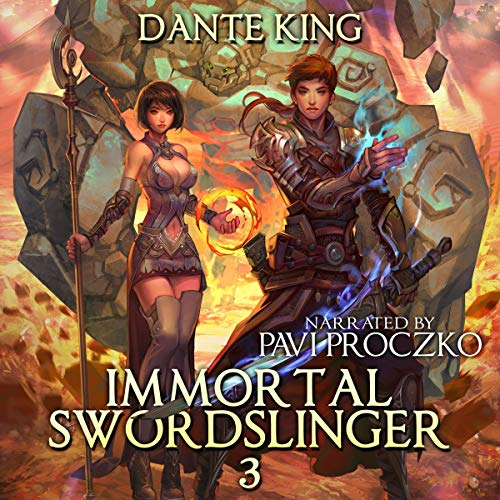 Immortal Swordslinger 3 cover art