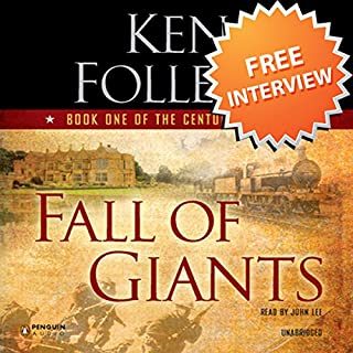 Ken Follett & John Lee Talk About Fall of Giants audiobook cover art