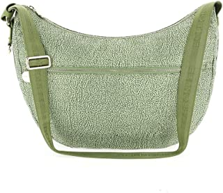 Luxury Fashion | Borbonese Womens 934463X96W81 Green Shoulder Bag |
