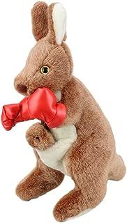 RealAus Stuffed Animal Souvenir Boxing Kangaroo with Joey Red 12