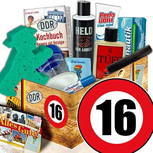 Männer Pflege Geschenkset DDR / 16. Jubiläum / 16 Jahre verheiratet Jubiläum