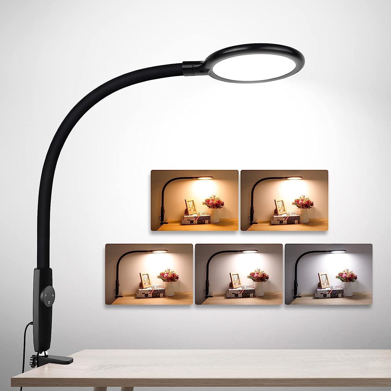 LED Desk Super intense SALE Lamp with Clamp Architect Flexible Gooseneck Large-scale sale Tou