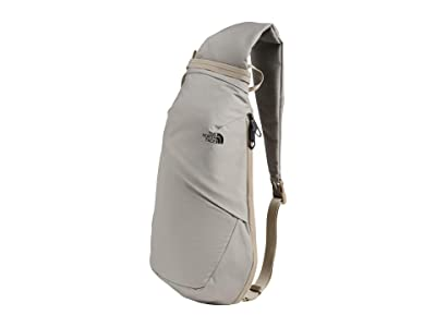 The North Face Electra Sling L (Dove Grey Dark Heather/Crockery Beige) Sling Handbags