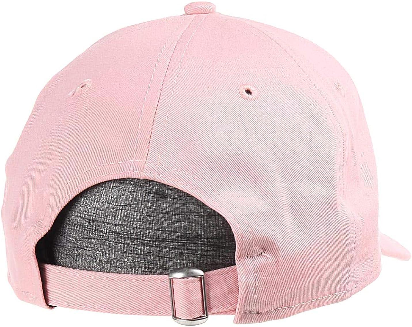 New Era Hats 9TWENTY L.A Dodgers Packable Baseball Cap Light Pink