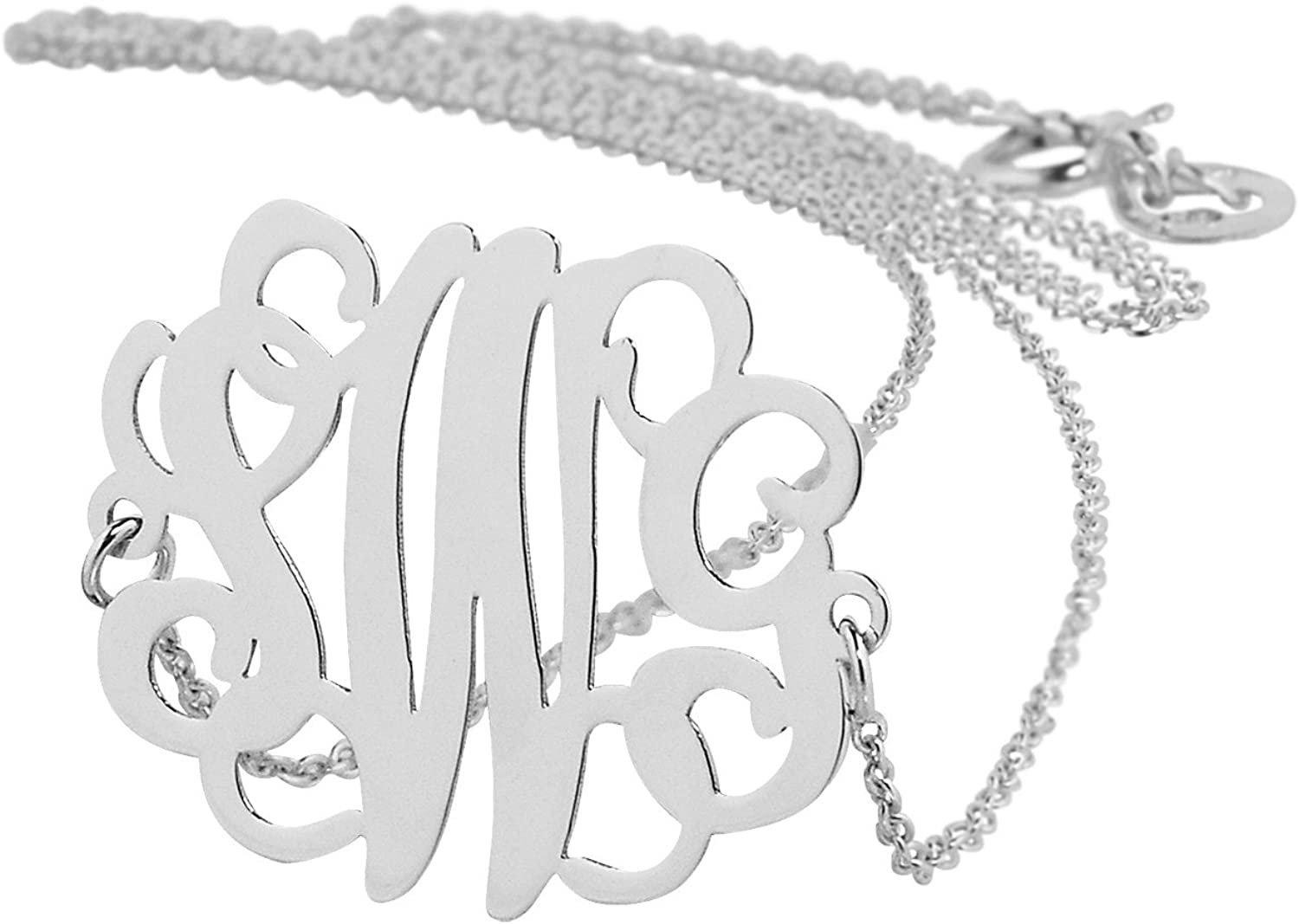 Soul Jewelry Small Deluxe Solid 14K Initials Gold 3 Personalized Don't miss the campaign White