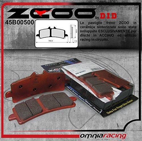 45B00500 PASTIGLIE FRENO ZCOO (B005 EX) DUCATI 1199 PANIGALE R 2013-2014 (ANTERIORE)