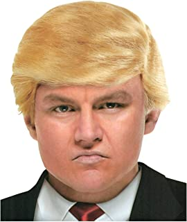 Donald Trump Wig for Adults Great for Halloween Holiday Costume Funny Mr. Billionaire Accessory Dress Up Like President Men, Women, Teens, and Children