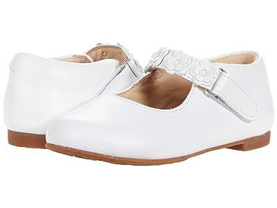 Elephantito Flower Mary Jane (Toddler/Little Kid) (White 1) Girls Shoes