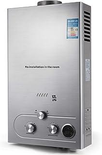comprar comparacion Husuper 12L LPG Calentador de Agua Sin Tanque Caldera Instantánea Baño Ducha Calentador de Agua Instantáneo Hot Water Heater