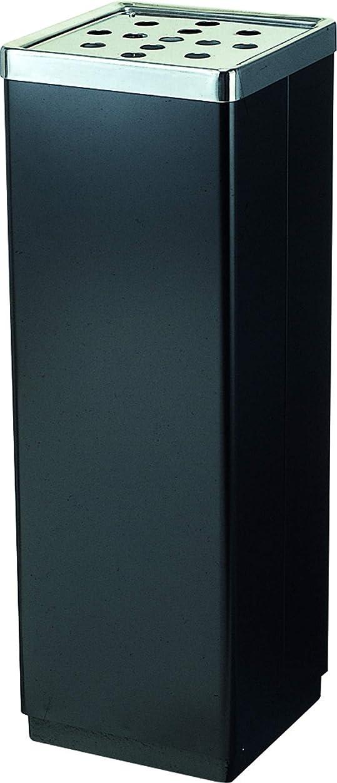 確かめるビザ海港山崎産業 スタンド 灰皿 スモーキング YS-106B ブラック YS-07L-ID 高さ59.2cm 305469