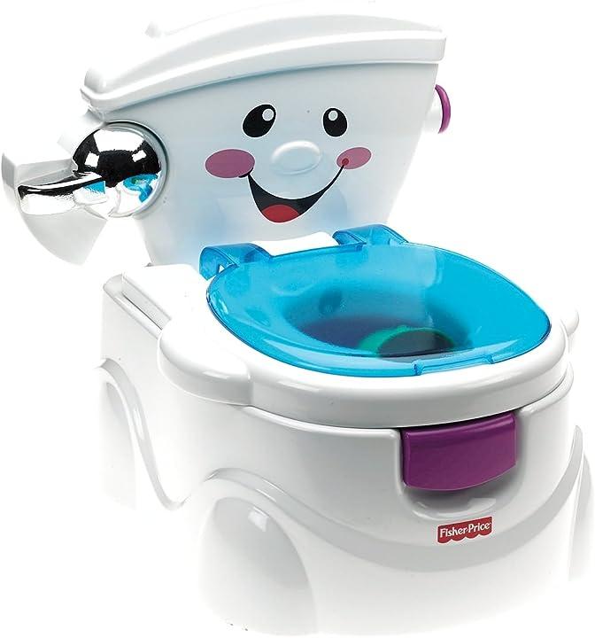 Vasino per bambini - fisher-price la mia prima toilette P4328