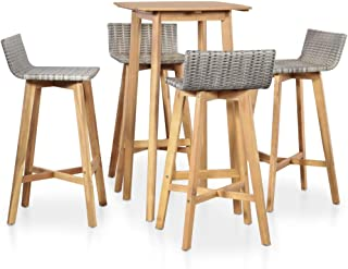 Amazon.fr : ensemble table et 4 chaises : Jardin