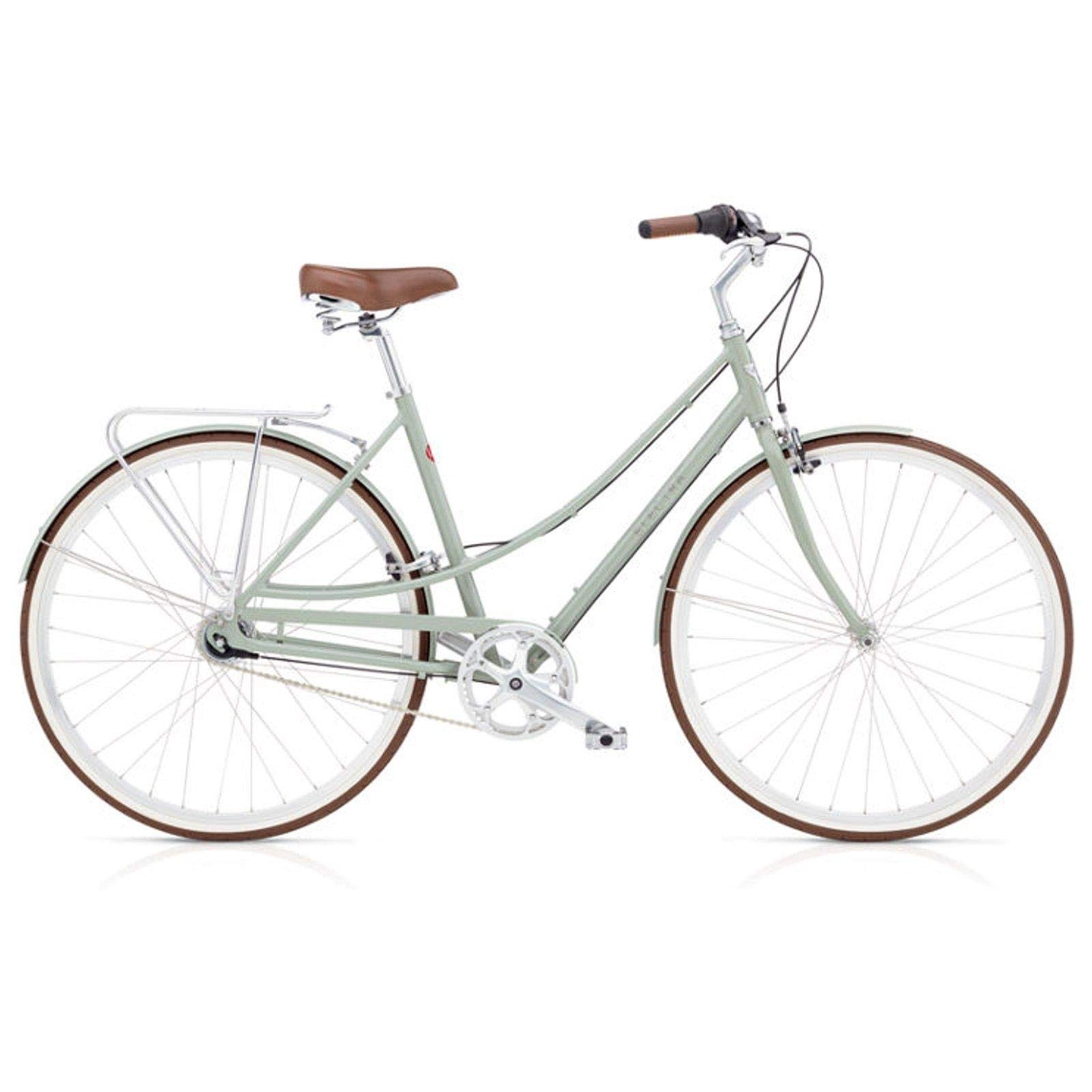 Electra Loft 7i Mujer bicicleta Ciudad, Urban City aluminio Retro 700 C Clásico, 53750, color verde, tamaño small: Amazon.es: Deportes y aire libre