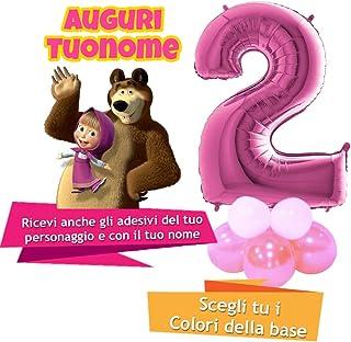 originale più votato nuovo arriva buon servizio Amazon.it: masha e orso - idea party / Articoli per feste e ...