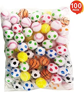 ArtCreativity Sports Plastic Beer Pong Balls - Pack of 100-33mm Colorful Assortments - Ping Pong Balls - Great Novelties for Beer Pong Games