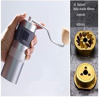 WHZJXB-ZYP 1pc New 1zpresso JE Italmill 48mm conical burr super portable coffee grinder coffee mill super manual coffee bearing recommend (color : JE Italmill)