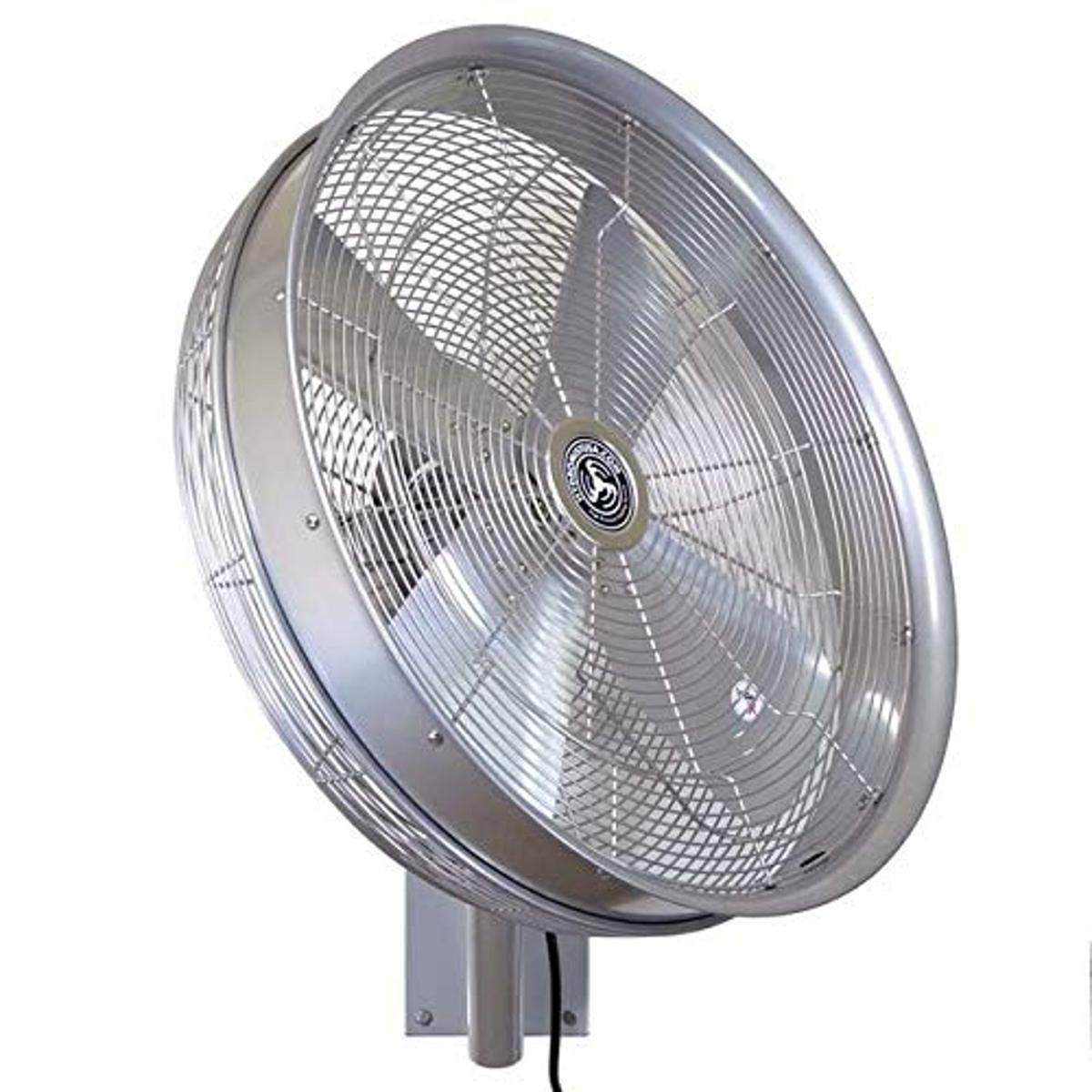 lowest price Hydromist 24 Inch Oscillating Outdoor Shroude Mounted Rated Wall Bargain sale