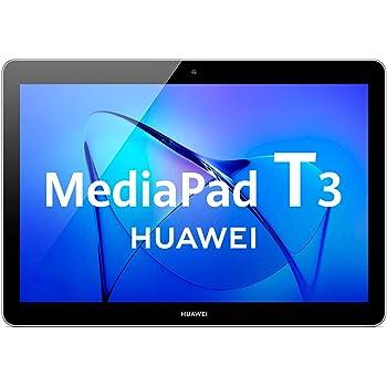 "Huawei Mediapad T3 10 - Tableta 9.6"", HD IPS, WiFi, Procesador Quad-Core Snapdragon 425, 2GB RAM, 16GB Memoria Interna, Android 7, color Gris"