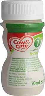 Cow & Gate First Infant Milk - Ready to Feed, 70ml, Box of 24 Bottles