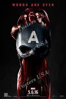 Posters USA Marvel Captain America Civil War Movie Poster GLOSSY FINISH - FIL260 (24