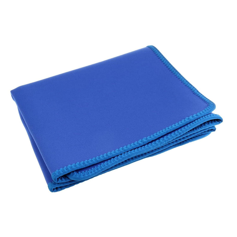 Perfk ベビー用 交換マット プール 水泳 ビーチ 防水 滑り止め ネオプレン 柔らかい 2色選択  - ブルー