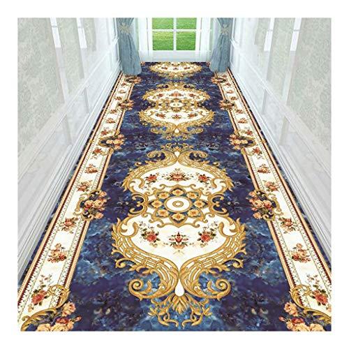 BETTKEN Antideslizante Alfombra Pasillo Entrada Alfombras por Lujo Habitación Oficina Fácil Limpiar Alfombras de baño (Color : D, Size : 0.6x1m)