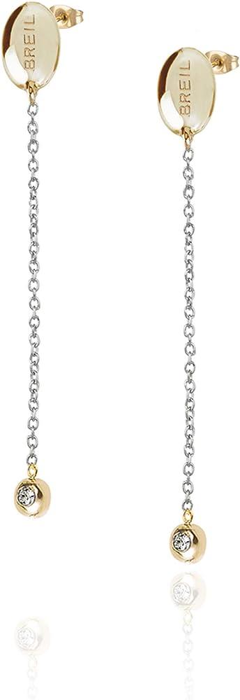 Breil  orecchini da donna in acciaio colorato  collezione sunlight TJ2625