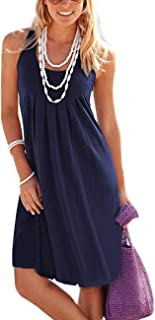 Best women's cotton tank dresses Reviews