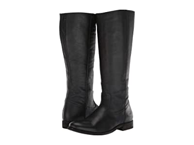 Frye Melissa Inside Zip Tall (Black Extended) Women