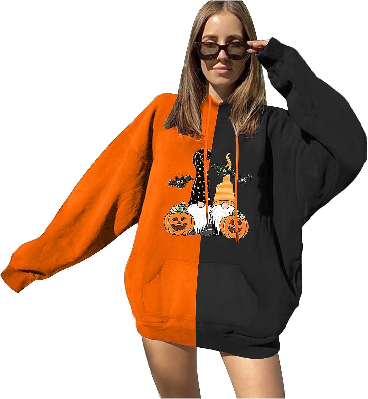 Teen Girls Hoodies Printed Sweatshirt Pullovers Cute Hooded Junior Sports Blouse Long Sleeve Hooded Summer Tops