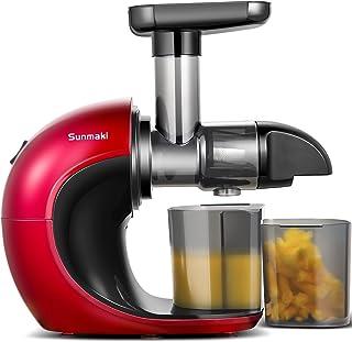 Sunmaki Sapcentrifuge voor groenten en fruit, met stille motor en omkeerfunctie, gemakkelijk te reinigen met de borstel, h...