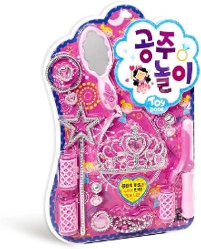 tienda de venta [NOBRAND]] Los Los Los Juegos de simulación de Bricolaje Princesa del Juguete Juego de Roles del Kit del Libro de imágenes El Jugar con Las 12 Piezas de Kits de Juguetes para niñas  ventas en linea