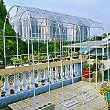 WYCD Arche décorative Fer Forge Arceau à Rosiers Garden, Arche de Jardin Robuste, pour Les diverses Plantes grimpantes, épaissie 120x220cm 230x220cm 350x220cm