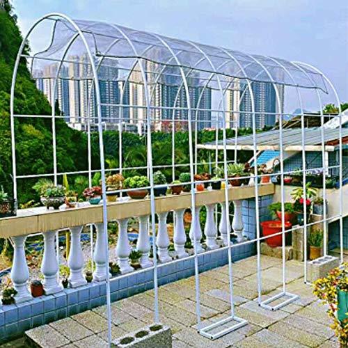WYCD Arco de Metal para Jardin, Arcos de Boda Arco de Jardin para Rosales y Plantas Trepadoras, para Jardín Patio Terraza, Varios Tamaños, Fácil de Montar