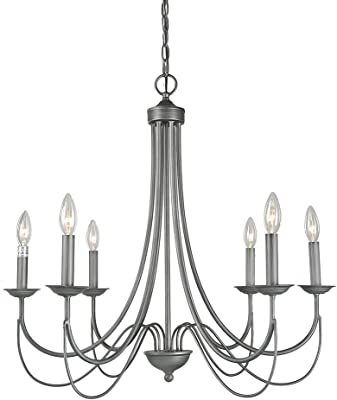 Mirrea Crystal Chandelier Pendant Light 4 Lights With Crystal