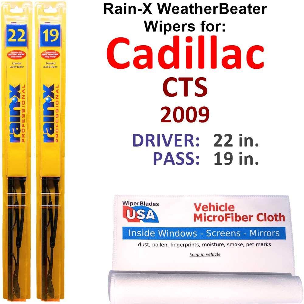 Rain-X WeatherBeater Wiper Blades for Rain Cadillac Set CTS At the price Tucson Mall 2009