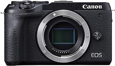 Canon Mirrorless Camera [EOS M6 Mark II] (Body) for Vlogging|CMOS (APS-C) Sensor| Dual Pixel CMOS Auto Focus| Wi-Fi |Bluet...