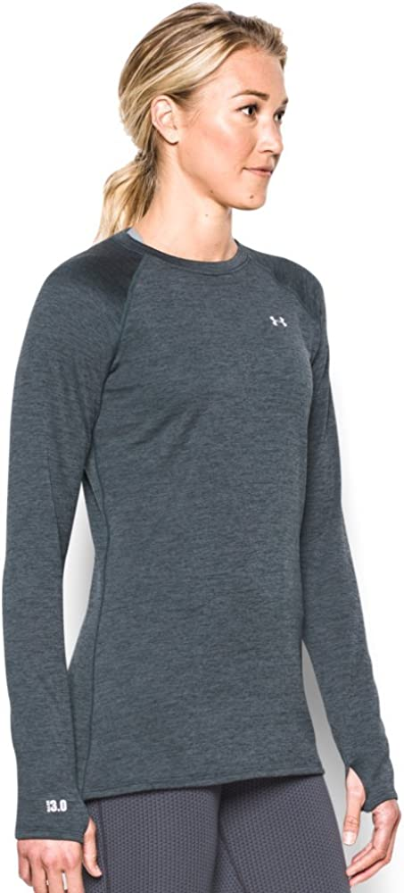 Under Armour Womens Base 3.0 Crew Long Sleeve