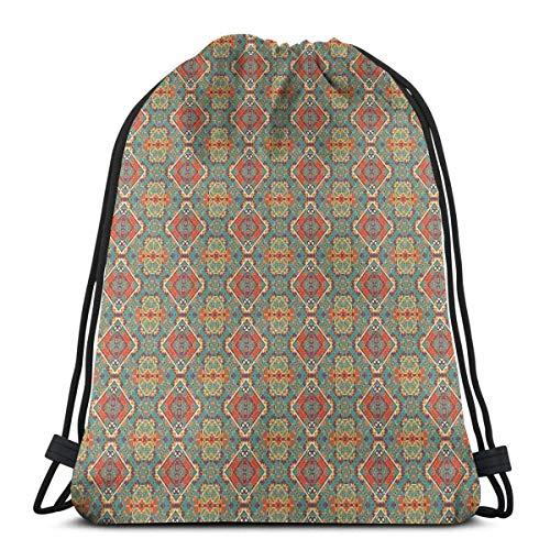 NA, bolsas de cordón, diseño étnico indígena, dibujo tribal folk artístico tribal, tribal, cierre de cuerda ajustable