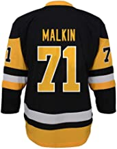 NHL Pittsburgh Penguins Evgeni Malkin Youth Outerstuff Replica Home-Team Jersey, Team Color, Youth Large (12-14)