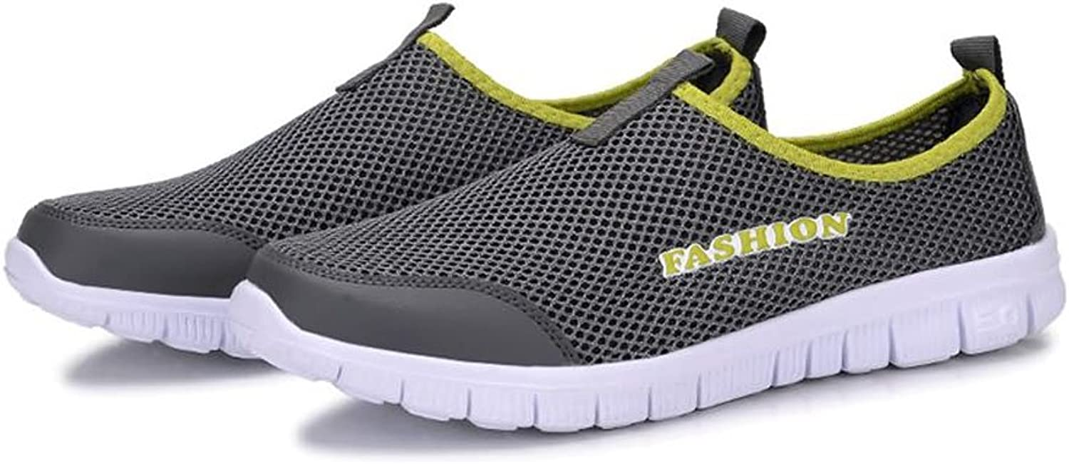 Men's Fashion Sneaker Men's and Women's Sandals Casual Lightweight Quick Drying Mesh Aqua Slip-on Water shoes Perfect Match for Waterproof Breathable